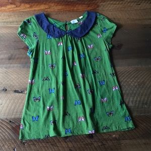 POSTAGE STAMP for Anthropologie Butterfly Blouse